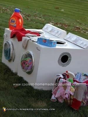 Dirty Laundry As A Washer Dryer Or The This One Also From Coolest Homemade Costumes Is Perfect If You Have Trio Of Friends Looking